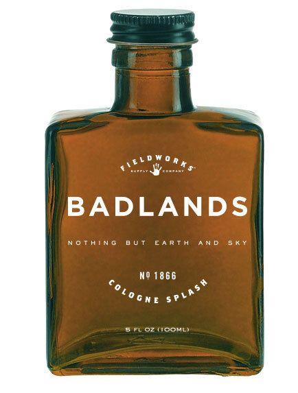 Fieldworks Supply Company - badlands cologne (splash), $50.00 (http://www.fieldworkssupply.com/badlands-cologne-splash/)