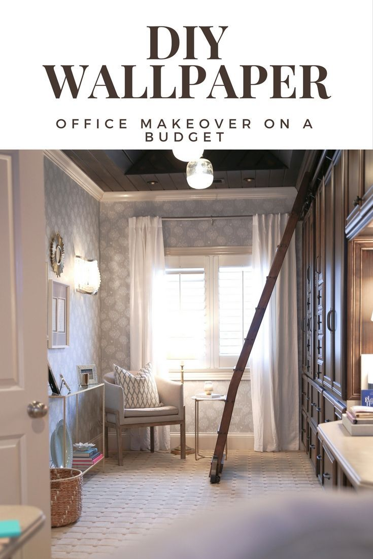 Home Office Makeover Reusable Wallpaper Target Accessories With A Calming Result Home Decor Target Home Decor Home Decor Near Me