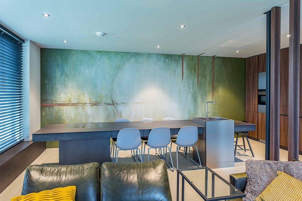 Moderne keuken interieur particulier interemm #modern