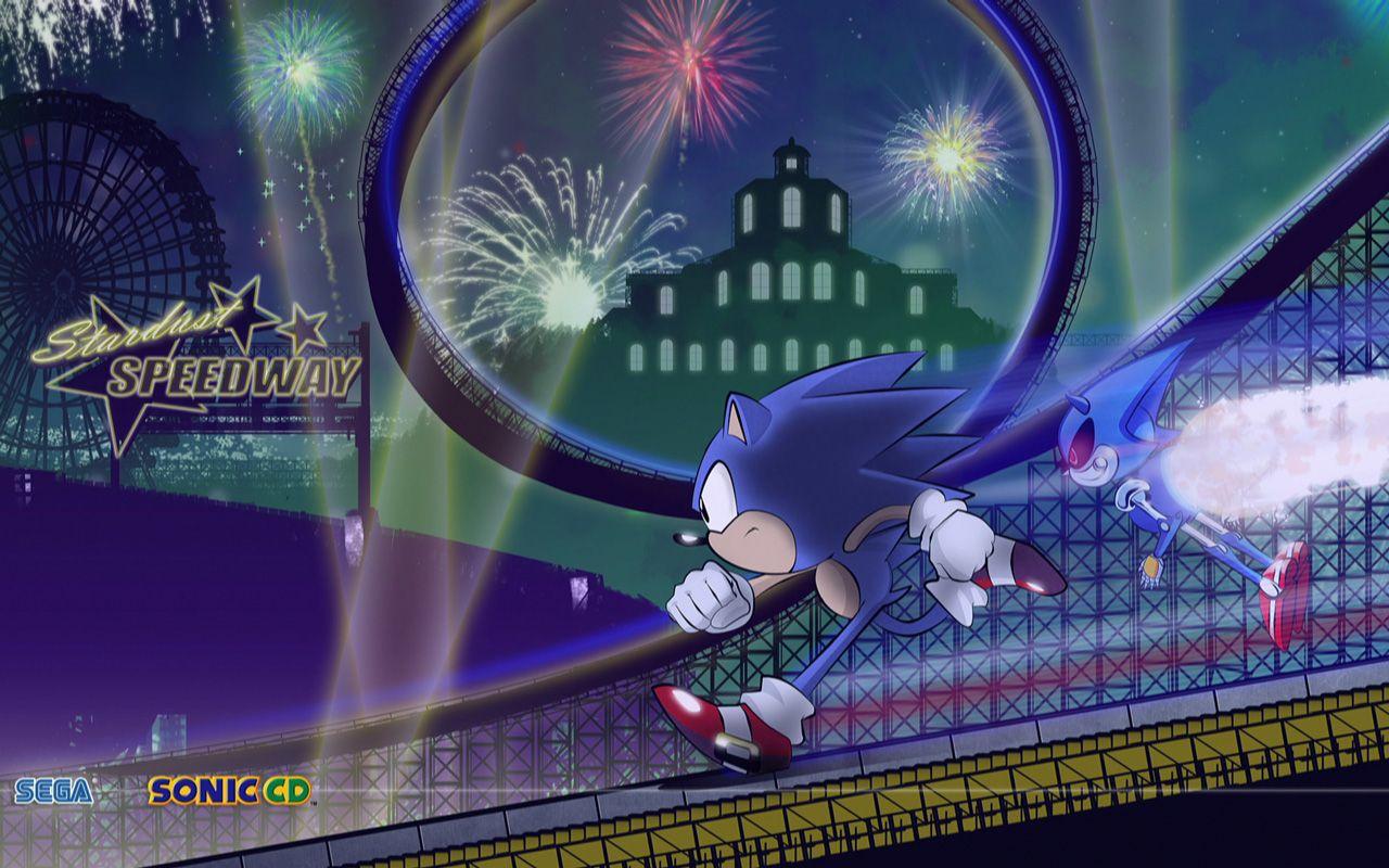 Sonic Vs Metal Sonic Sega