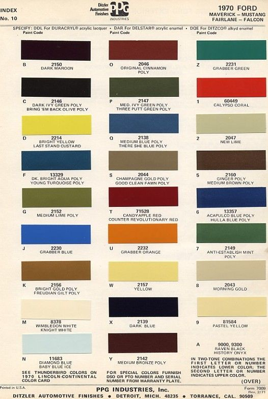 interior paint colors 1964 to 1970 mustang decoder numbers sharonsherman. Black Bedroom Furniture Sets. Home Design Ideas