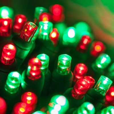 Wintergreen Lighting 70 5mm Led Christmas Lights Color Red Green