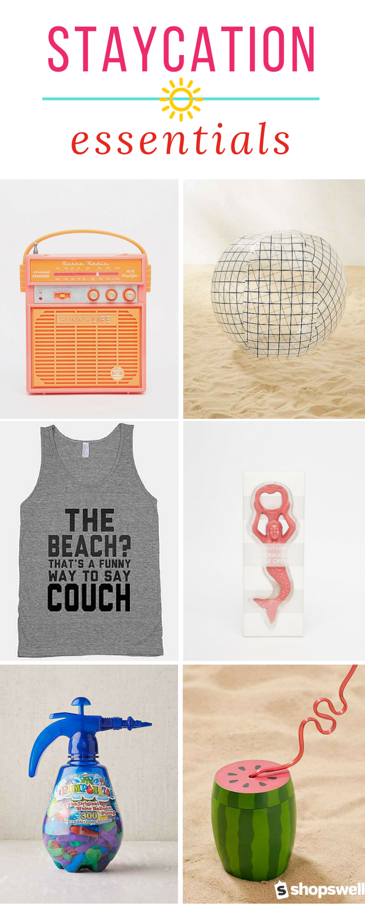 Fun products for your spring staycation picnics banks and spa beach solutioingenieria Gallery