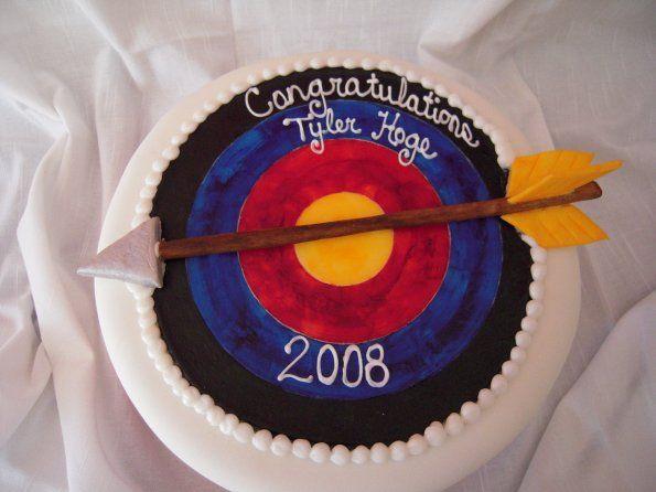 Congratulations Archery Cake