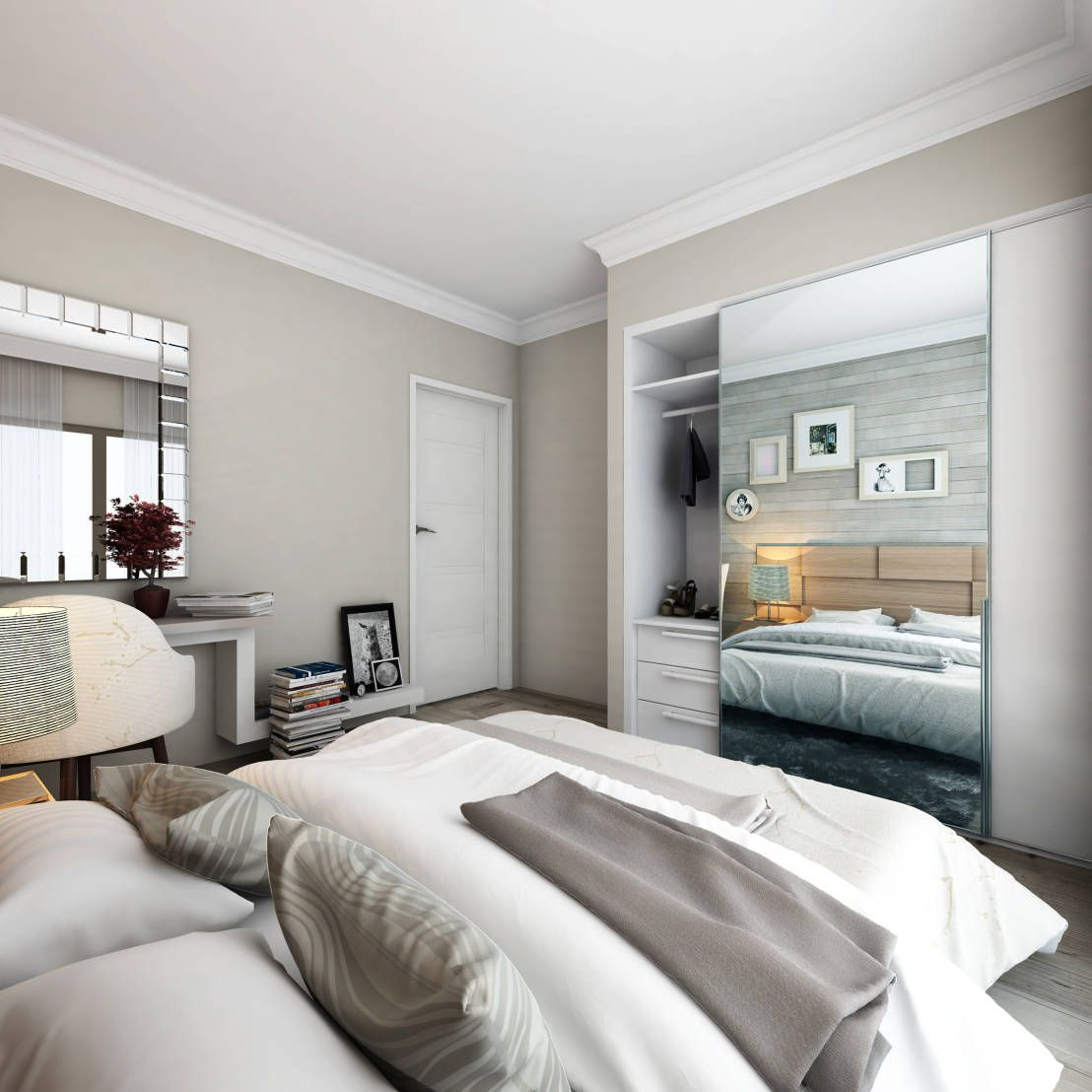 Window Wardrobe: Picking The Right Closet For Your Bedroom