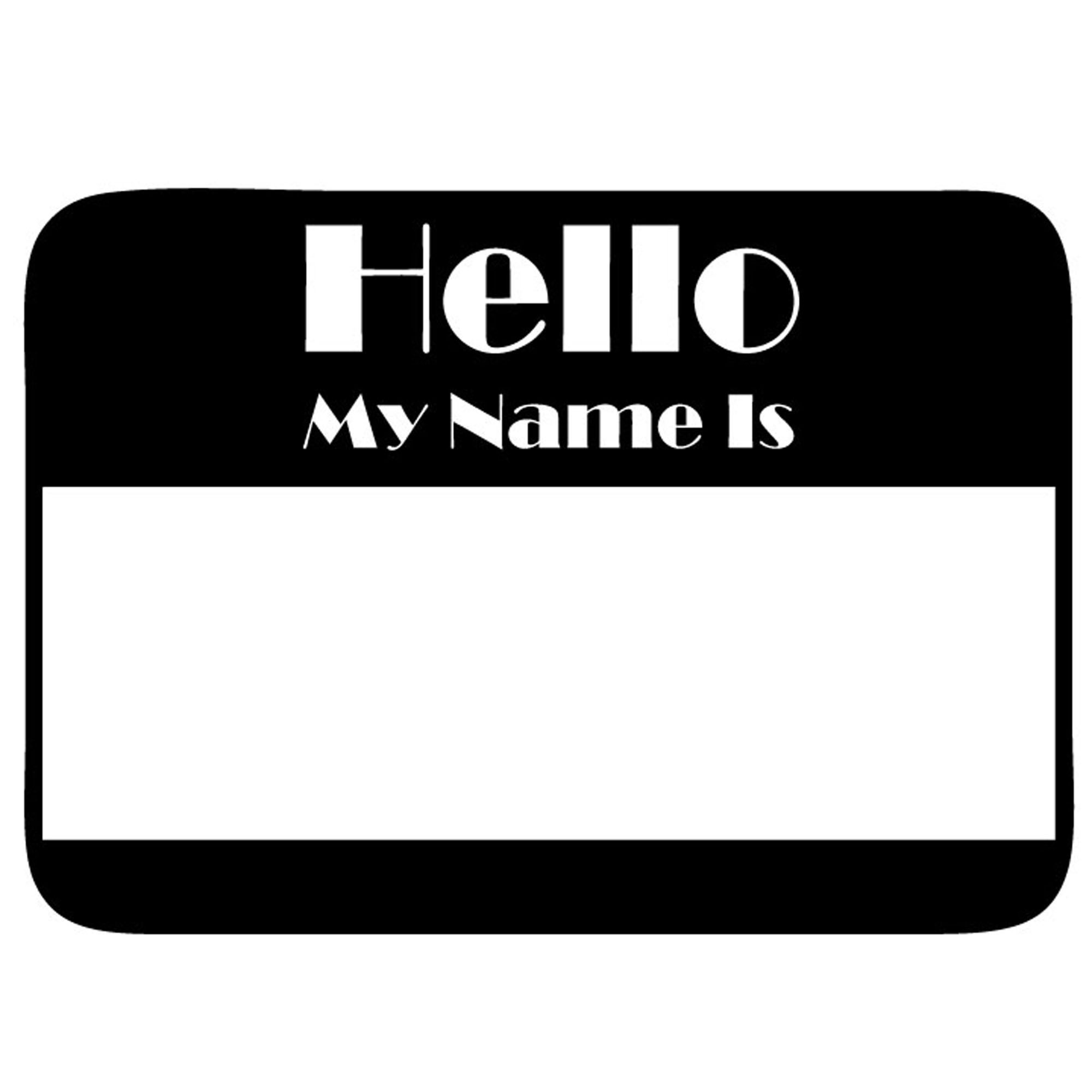 Hello My Name Is Name Tag Name Tag Svg Digital Files Name Etsy In 2021 Hello My Name Is Names My Name Is