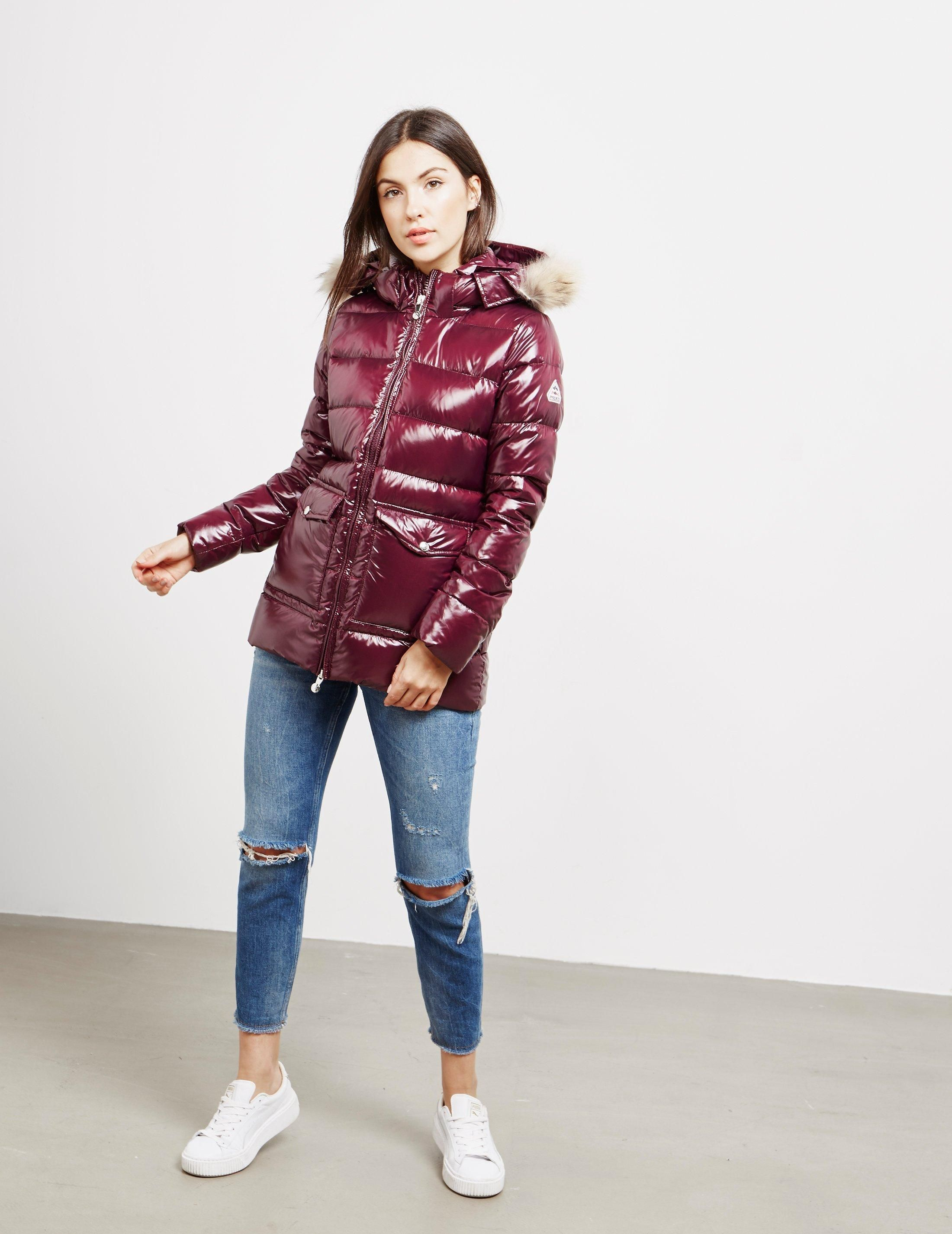 faf62eb795b07 Lyst - Pyrenex Authentic Shiny Jacket Red in Red