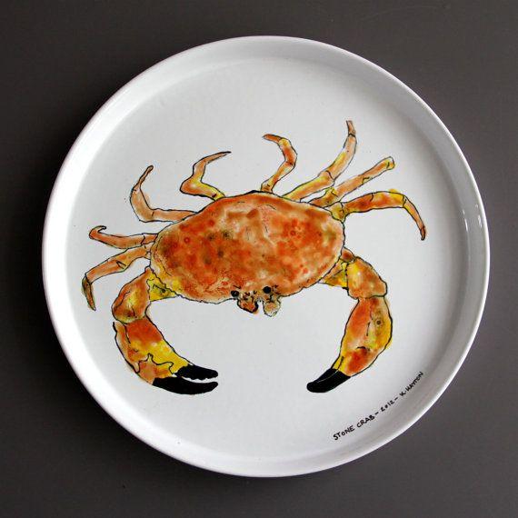 Stone Crab Plate & Stone Crab Plate | Vaisselle | Pinterest | Stone crab
