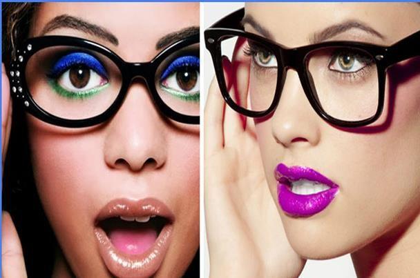 تعرفي على أحدث موديلات النظارات الطبية Sunglasses Women Fashion Nose Ring Glasses Fashion