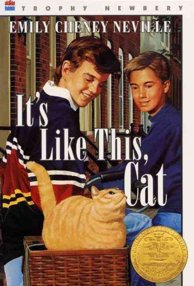 Winner of the 1964 Newbery Medal. Fourteen-year-old Dave Mitchell, growing up in New York City, tells of his affection for a tomcat and his first friendship with a girl.