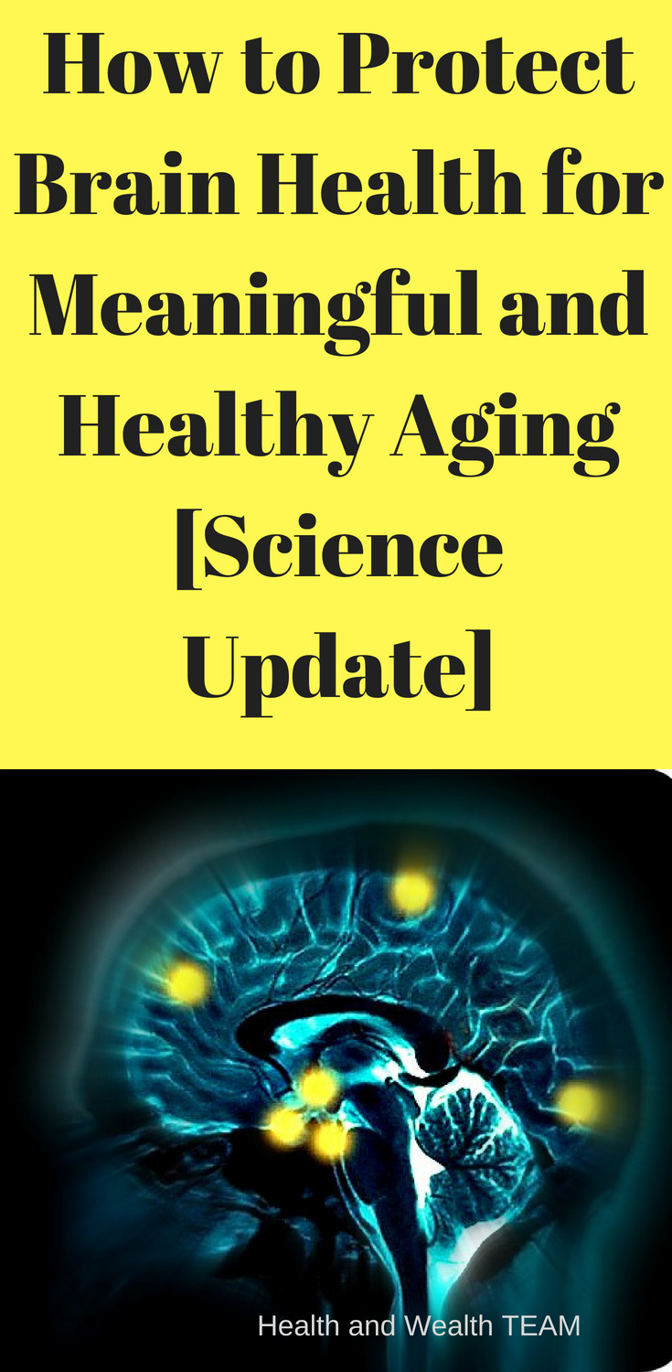 How to protect an aging brain recommend