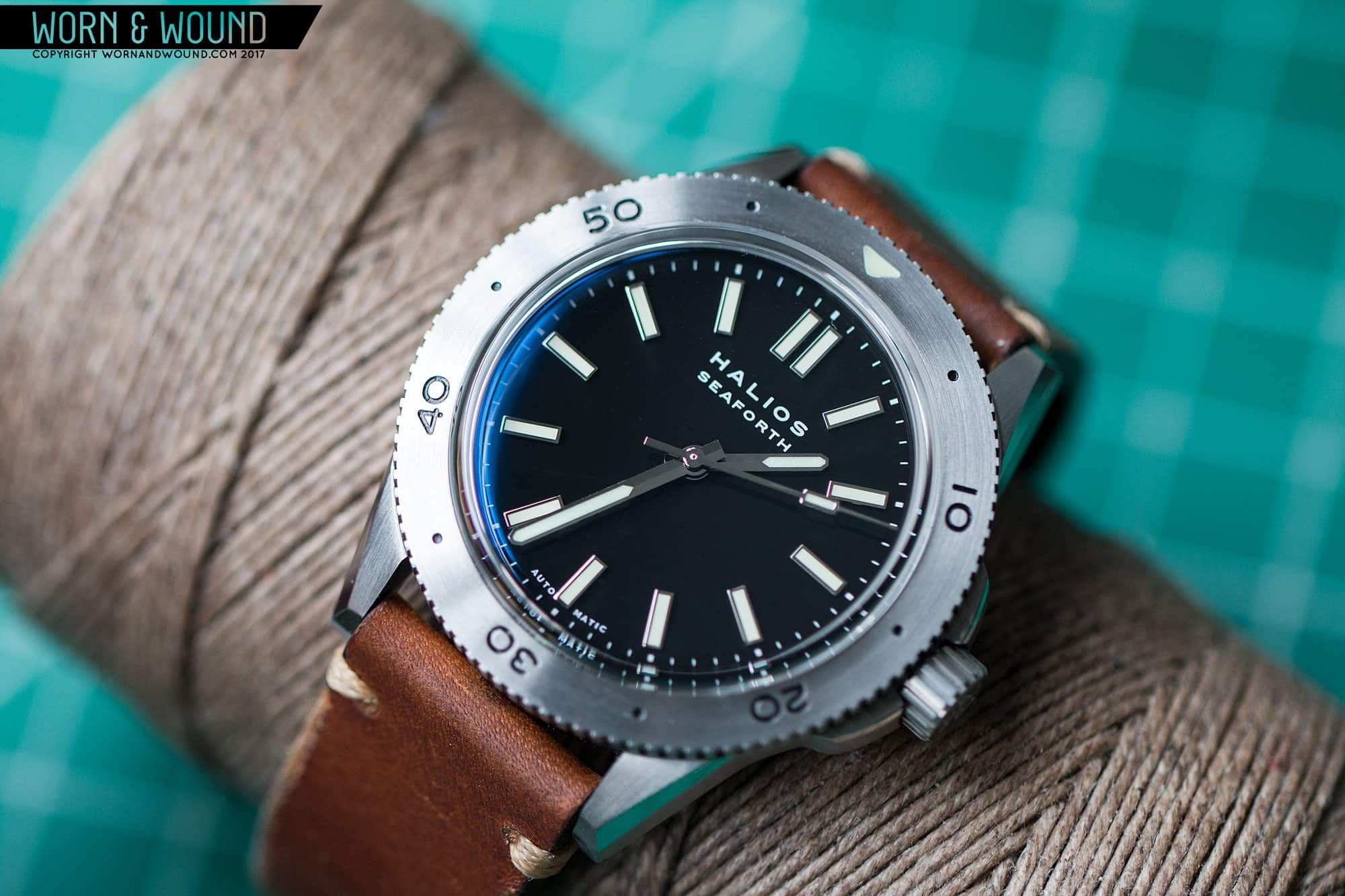 Halios Seaforth | Leather watch, Leather, Accessories