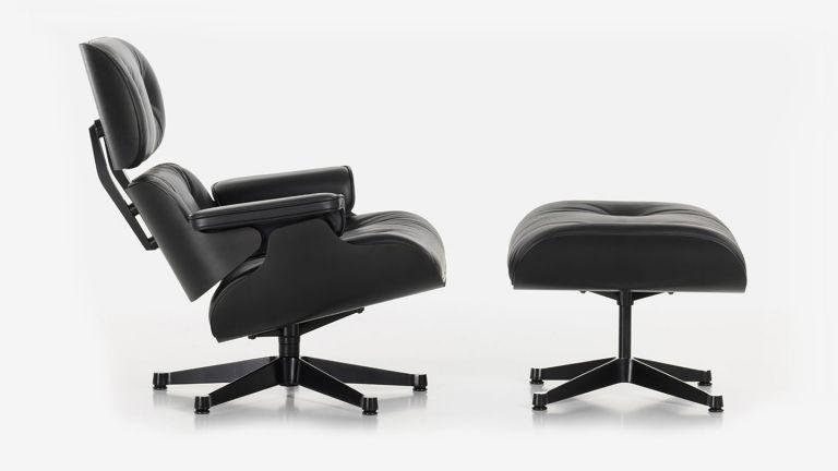 Charles & Ray Eames Lounge Chair & Ottoman Шезлонг