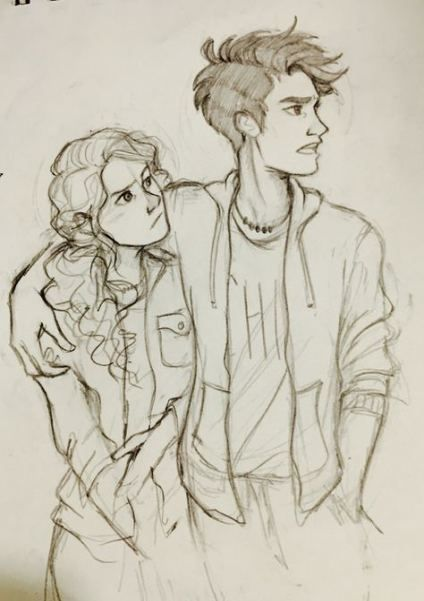 37 Ideas love art drawing couples percy jackson #drawing #art