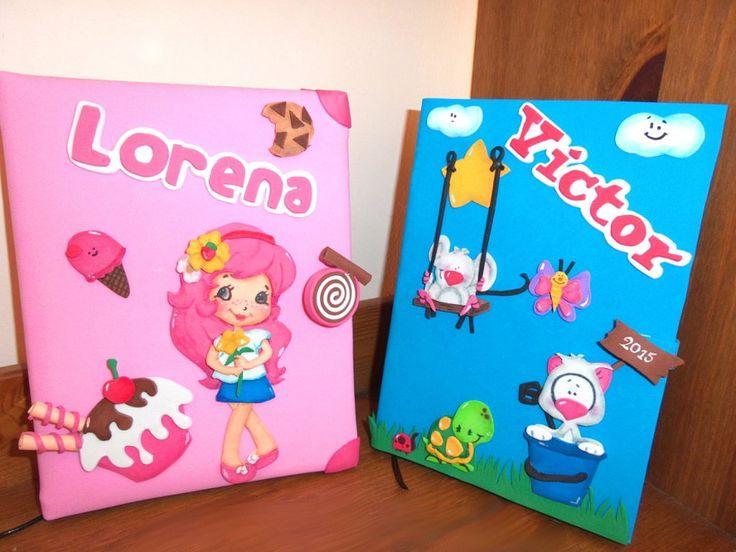 Resultado de imagen para portafolios creativos para niños