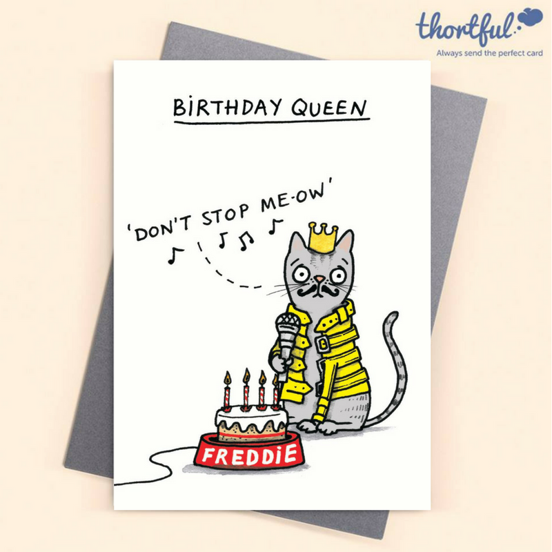 Thortful An Awesome Birthday Card From Cardinky Cat Birthday Card Cat Birthday Cards Funny Birthday Cards