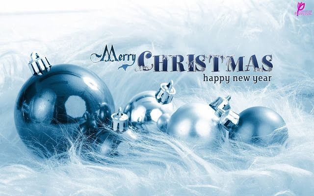 Christmas Balls Wallpaper With Greetings and Wishes