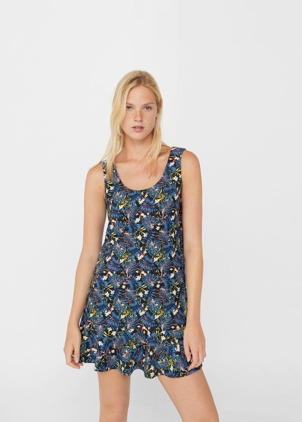 8aa21e476 Vestido volante bajo - Vestidos de Mujer | Style. I | Vestidos ...