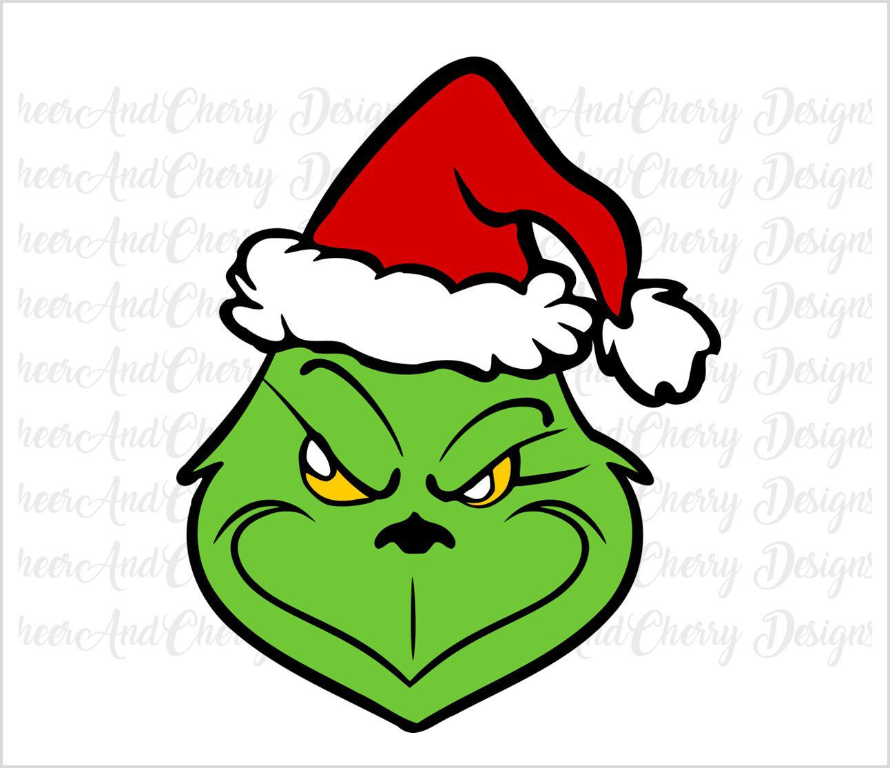 14++ Grinch face clipart free ideas