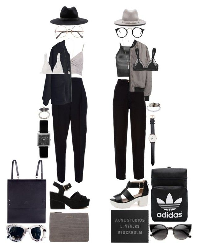 """Untitled #664"" by jayda-xx ❤ liked on Polyvore featuring Chanel, Topshop, T By Alexander Wang, Karen Kane, Lanvin, ASOS, Comme des Garçons, STELLA McCARTNEY, Monki and Sunday Somewhere"