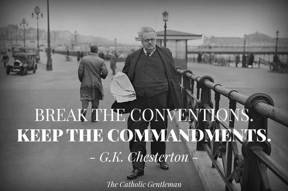 Gk chesterton the oneofakind man catholic
