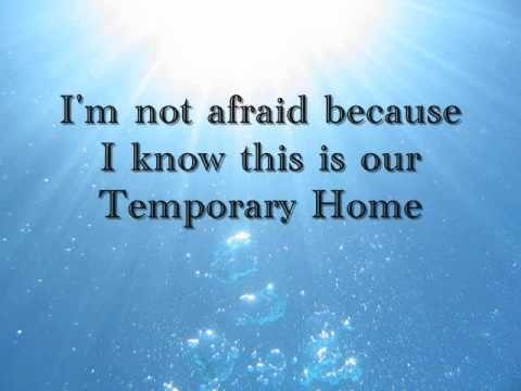 Temporary Home By Carrie underwood lyrics | Beautiful songs, Country lyrics, Christian music