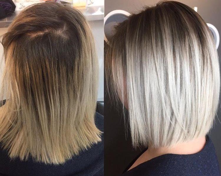 Ombre Hair Style: Blonďaté Vlasy, Krátké Vlasy, Vlasy