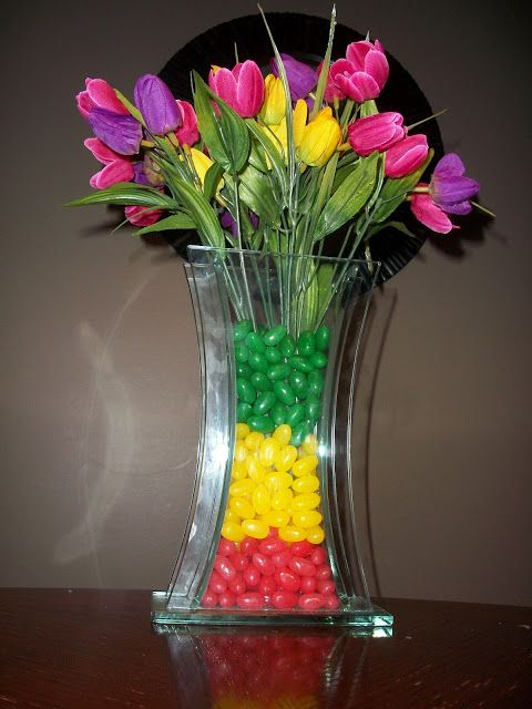 Spring Vase Filler Idea & Spring Vase Filler Idea | Crafty Decor | Floor vase decor Vase ...