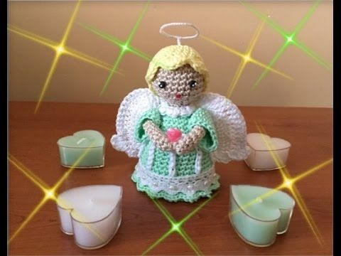 Amigurumi Tutorial Natale : Angioletto amigurumi youtube crochet videos pinterest