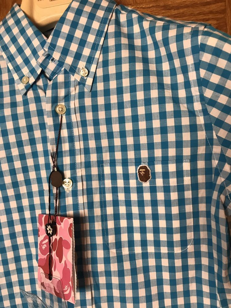 087b5d93 A Bathing Ape Cut And Collage New Shirt S #fashion #clothing #shoes  #accessories #mensclothing #shirts (ebay link)