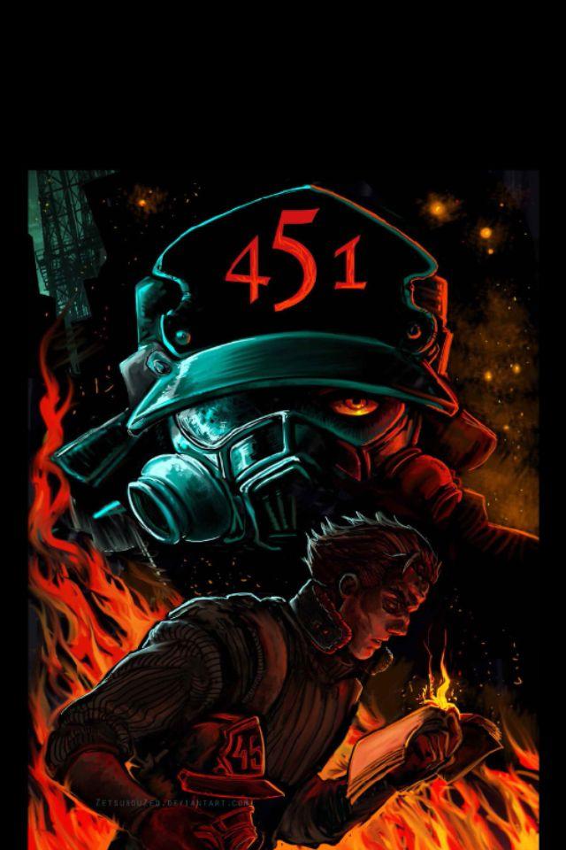 Fahrenheit 451 concept art. I love this | Çizim, Yazarlar, Film