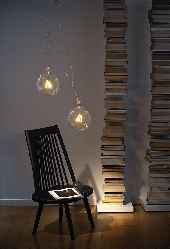Bulbo57 Lamp Suspension Flos In 2020 Flos Lamp Interior Design Elements