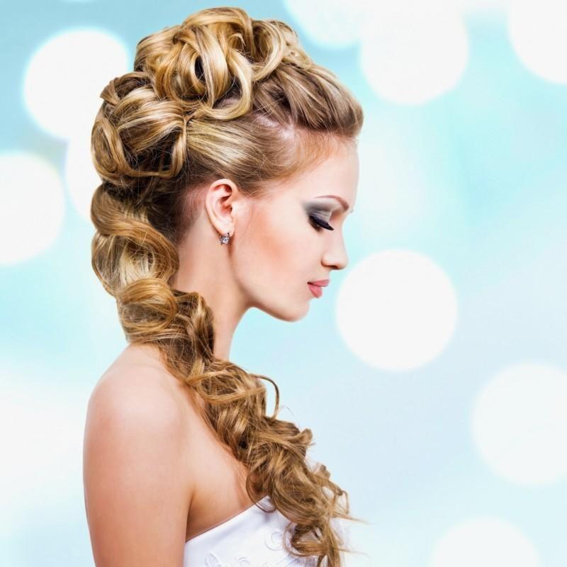 Frisuren Lange Haare Halboffen Geflochten Schön Brautfrisuren Offen