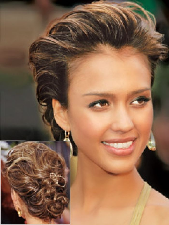 Elegant Updos Medium Hair Bridal Curly Updo Hairstyle For You