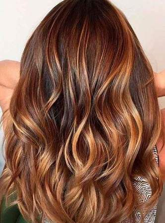 Light Ash Brown Hair With Highlights Caramel