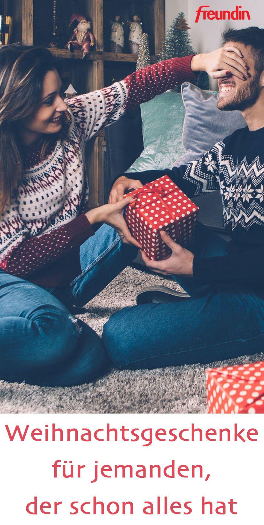 Weihnachtsgeschenk Mann Der Alles Hat