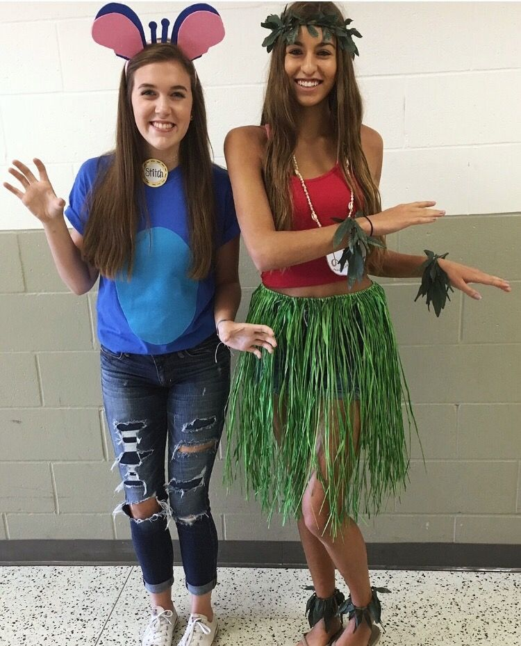 Lilo And Stitch For Character Homecoming Spirit Week Halloween Costumes Women Diy Halloween Costumes For Women Homecoming Spirit