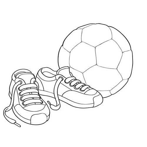 30 Desenhos De Futebol Para Pintar Colorir Em Casa Desenho