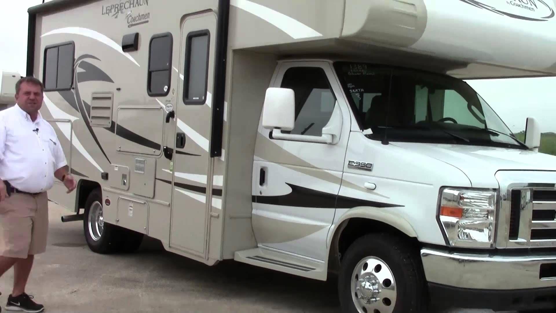 New 2015 Coachmen Leprechaun 220 QB Class C Motorhome RV - Holiday World...