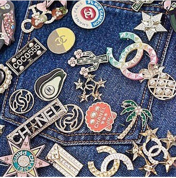 Chanel Cruise Cuba pins