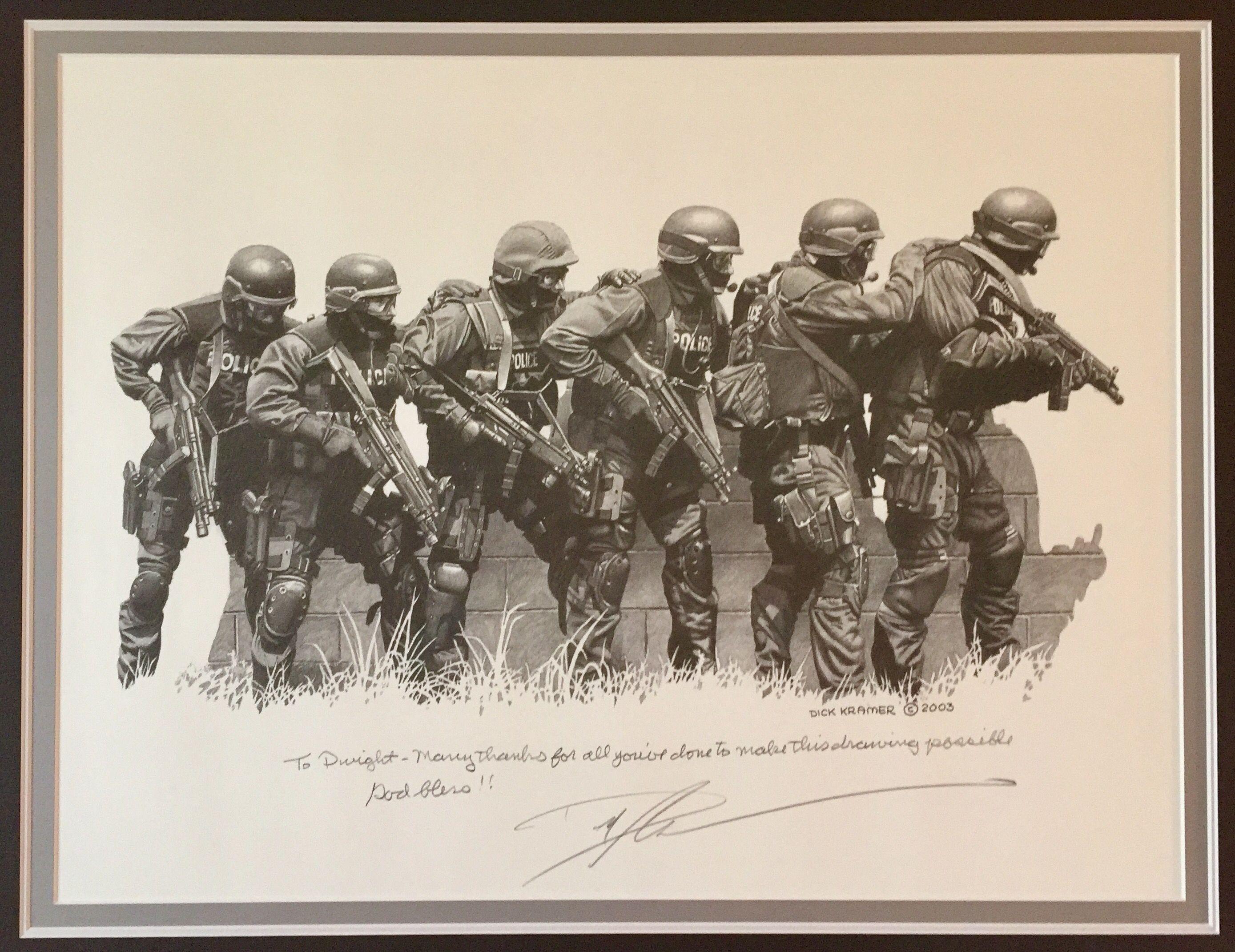 Tactical Artist Dick Kramer -
