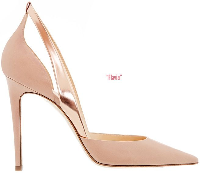 Alejandro Ingelmo Spring 2014 Collection - ShoeRazziFlavia d'Orsay pointed-toe pump