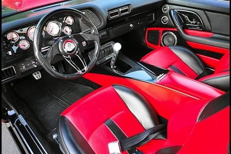 71 Rs With A Gen 2 Stiletto Console Camaro Chevrolet Camaro Chevrolet