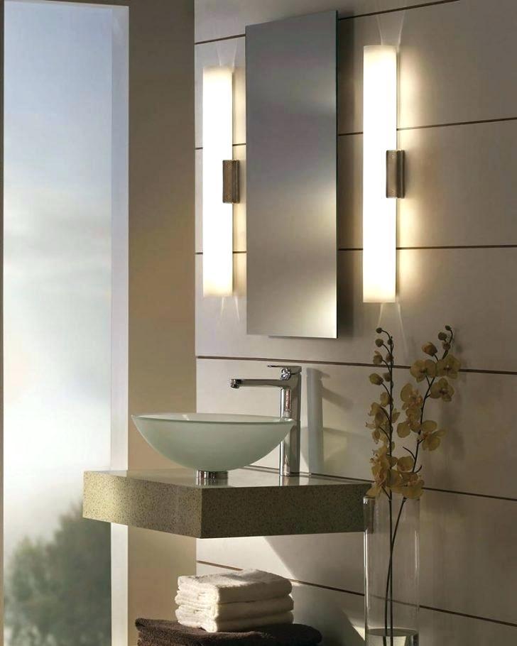Vertical Bathroom Lights Home Design Bathroom Mirror Lights