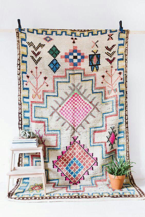 Tapis Marocain Boucherouite Decorate The Home Rugs Berber Rug