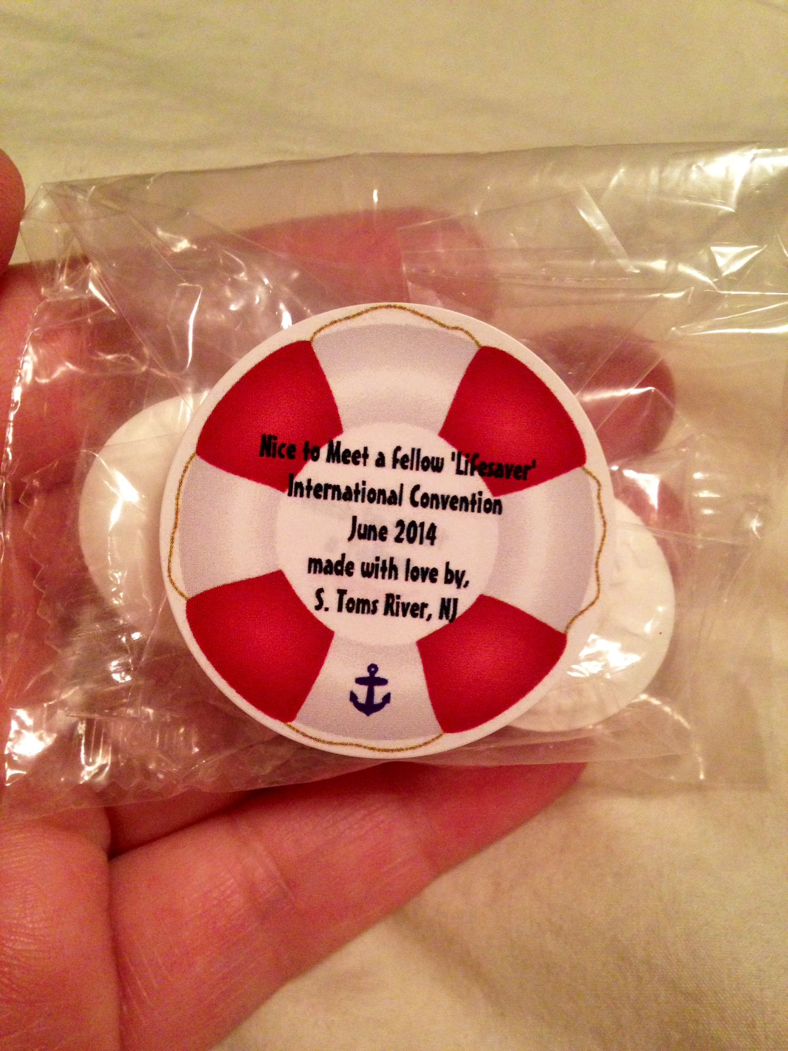 JW International convention gifts Candy