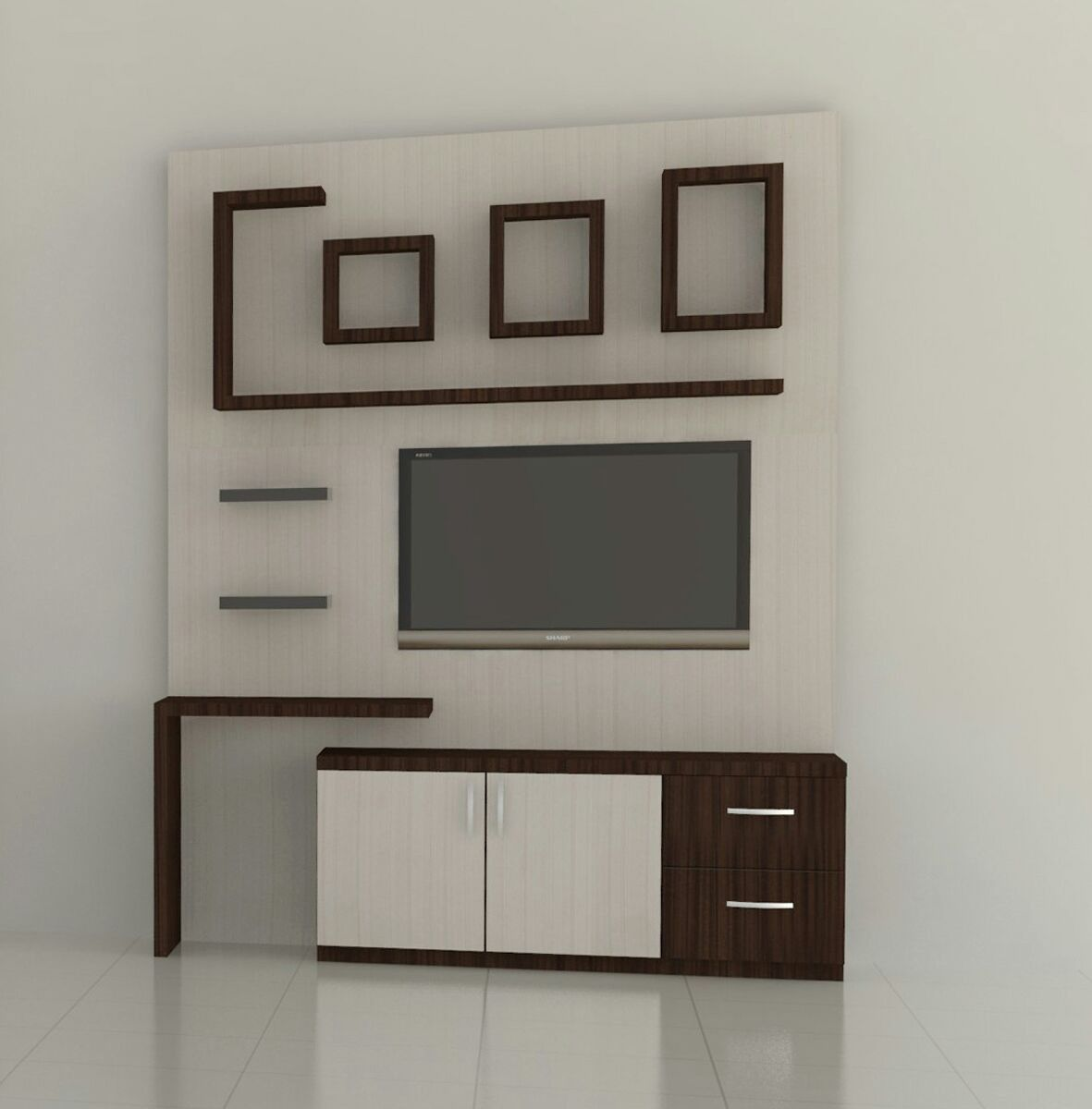 Pin By Tanmay Jaiswal On Tv Wall Units Pinterest Tv Unit Tvs  # Model Table Pour Tv