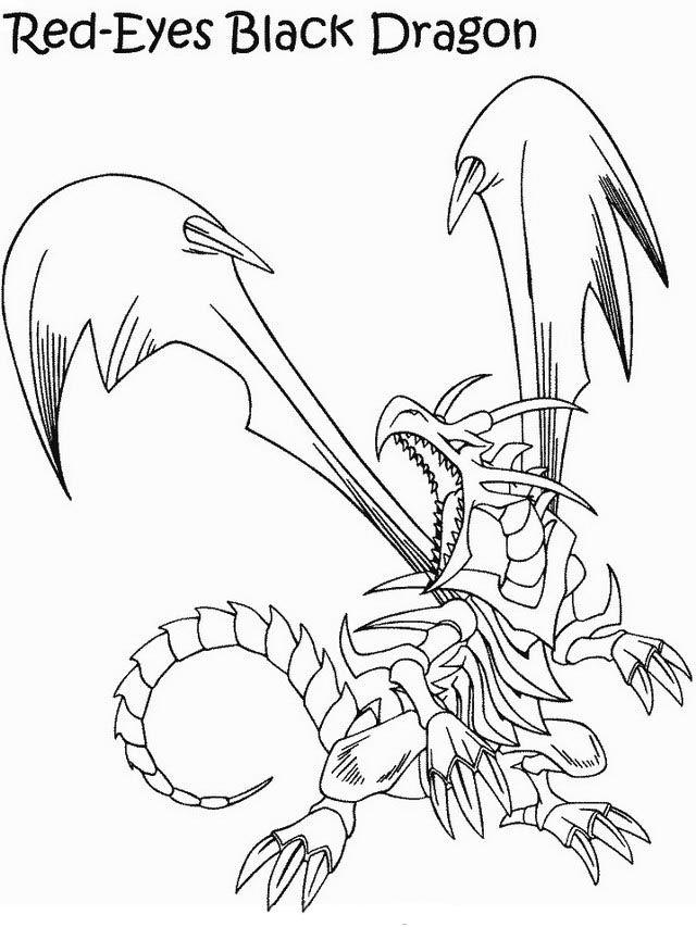Fargelegging Yu-Gi-Oh. Tegninger 29