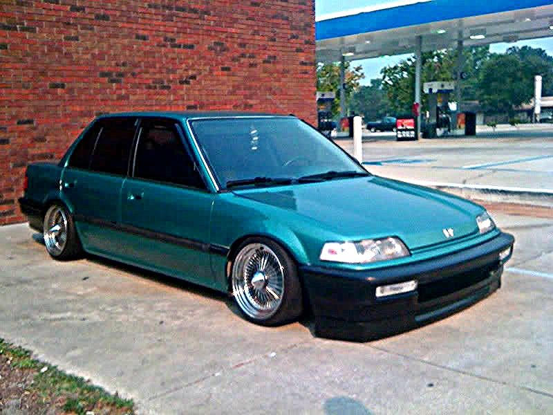 Fsft 91 Ef Sedan Slammedflush Come See Ef Sedan Honda