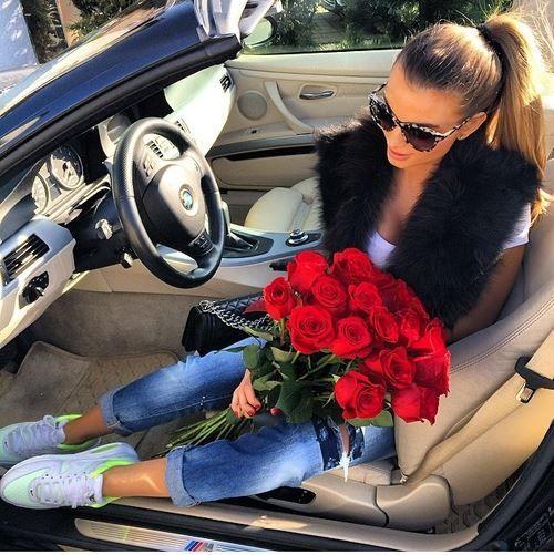 Girls want flower